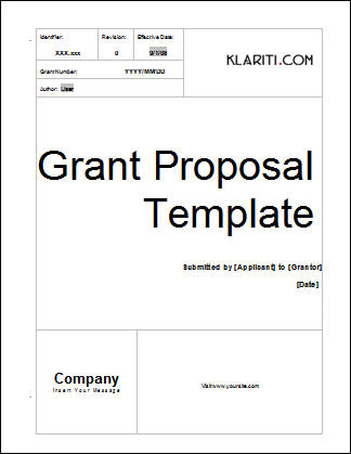 Grant Proposal Cover Letter from www.mysoftwaretemplates.com