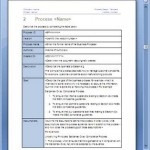 Business Process Design Templates in MS Word, Excel, Visio (Free & Pro)